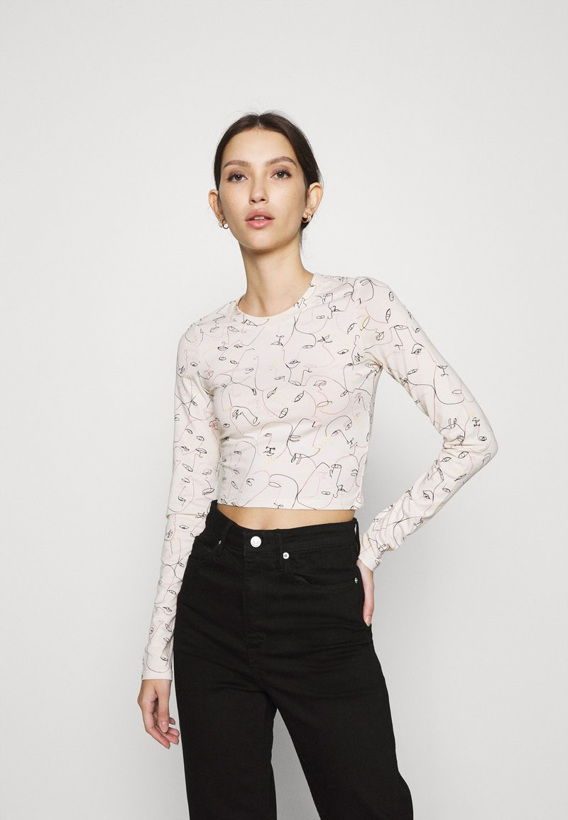 Monki - BARB - Long sleeved top - sand