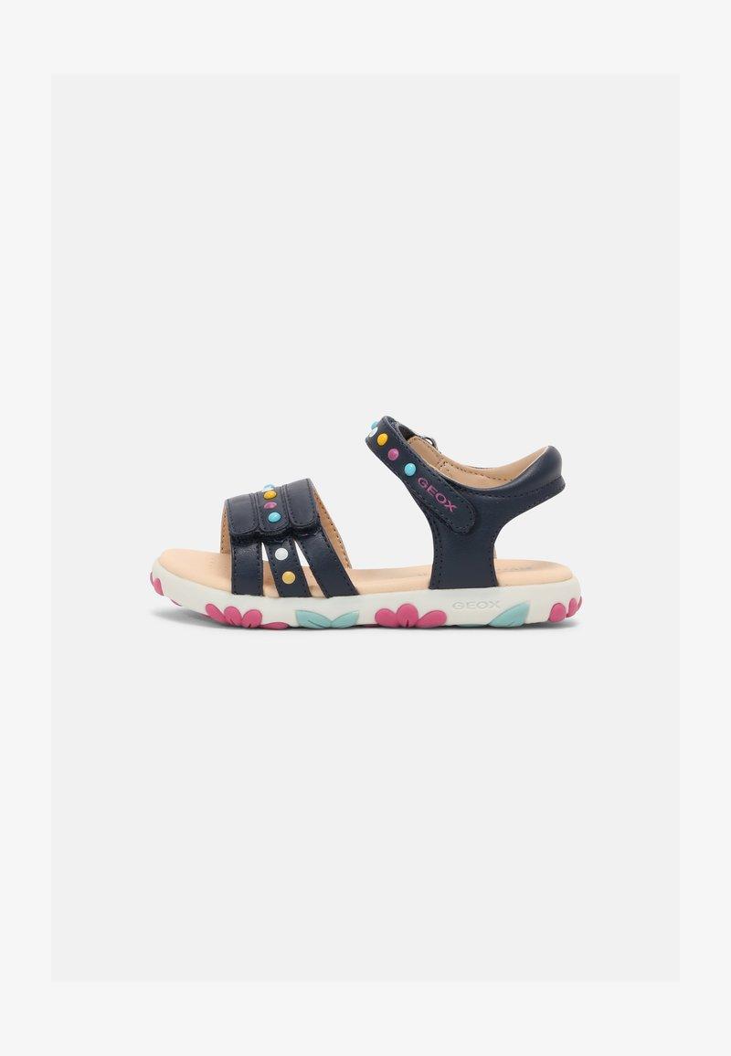 Geox - HAITI GIRL - Sandals - navy