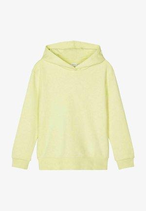 Hoodie - yellow pear