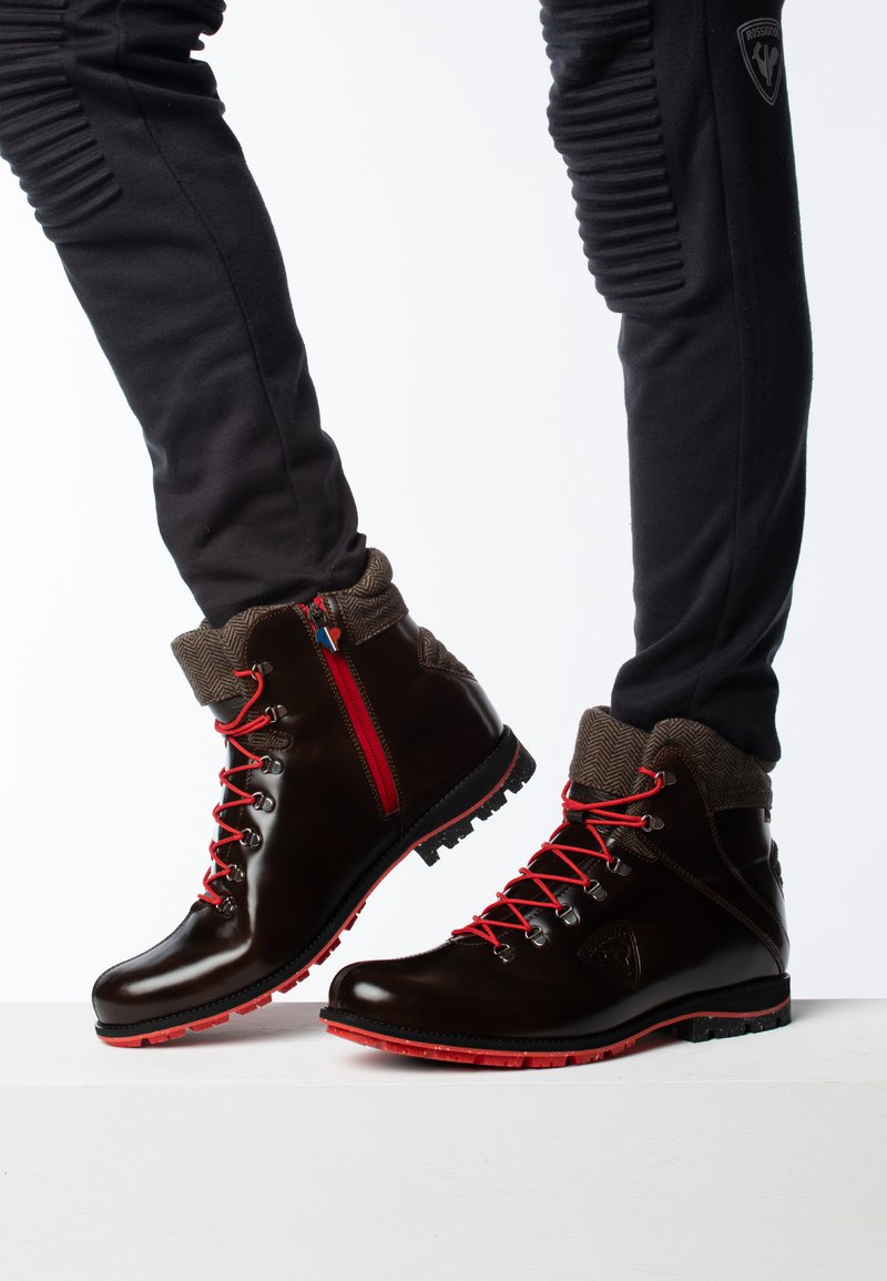 Rossignol - 1907 CHAMONIX - Lace-up ankle boots - brown
