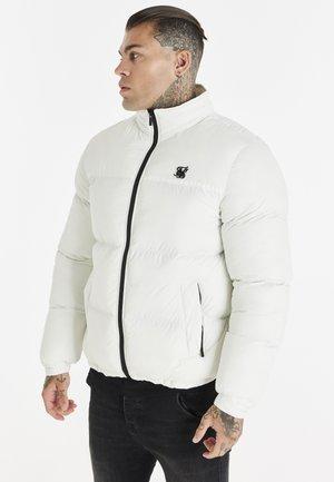 CROPPED BUBBLE JACKET - Winter jacket - ecru