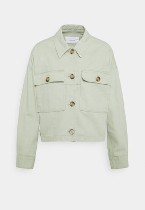HARDIL - Denim jacket - pistachio