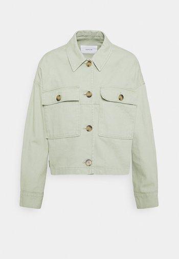 HARDIL - Denim jacket - pistachio