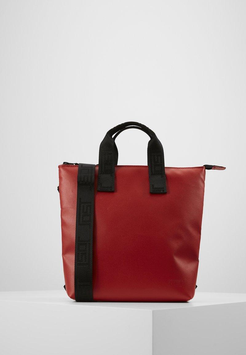 Jost - TOLJA CHANGE BAG MINI - Rucksack - red