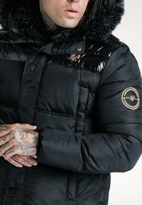 SIKSILK - ELITE PARKA - Zimní bunda - black - 4