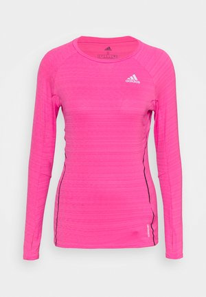 ADI RUNNER - Sportshirt - scream pink