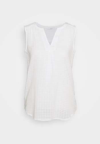 SHEER STRUC - Blouse - offwhite