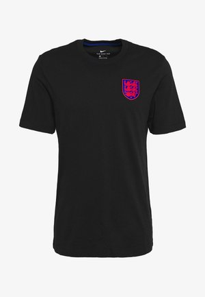ENGLAND ENT TEE TRAVEL - Pelipaita - black