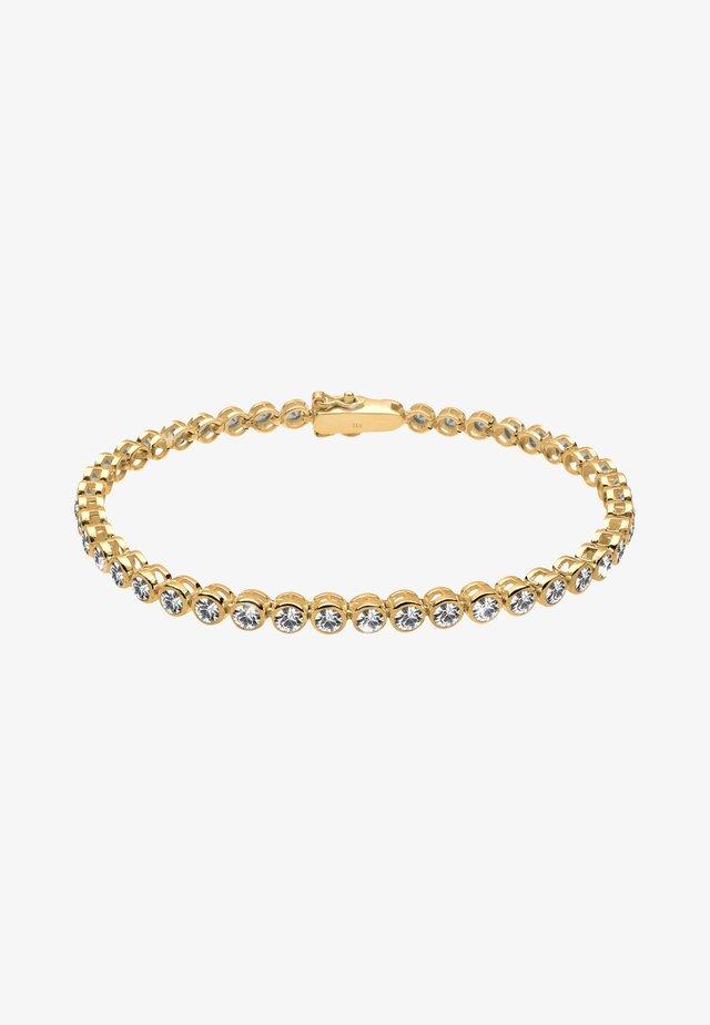 GLASS CRYSTAL - Armband - gold-coloured