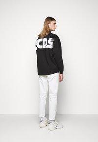 GCDS - ROUND LOGO TEE - Long sleeved top - black - 2