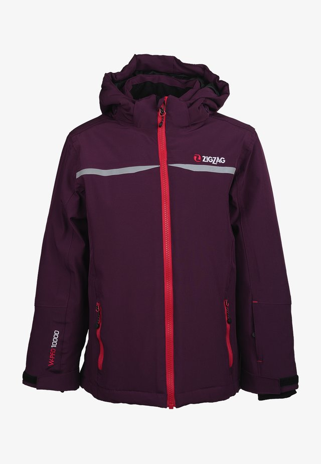 Ski jacket - 4081 potent purple