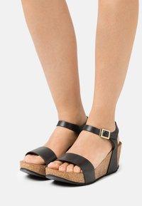 Copenhagen Shoes - CINDY - Platform sandals - black - 0