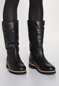 Panama Jack - BAMBINA IGLOO TRAVELLING  - Winter boots - black - 0