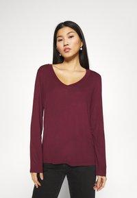 Anna Field - Long sleeved top - dark red - 0