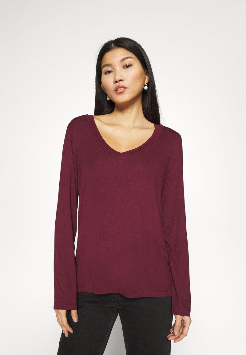 Anna Field - Long sleeved top - dark red