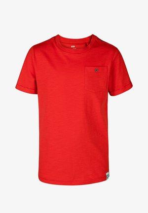 WE FASHION JONGENS T-SHIRT - Basic T-shirt - red