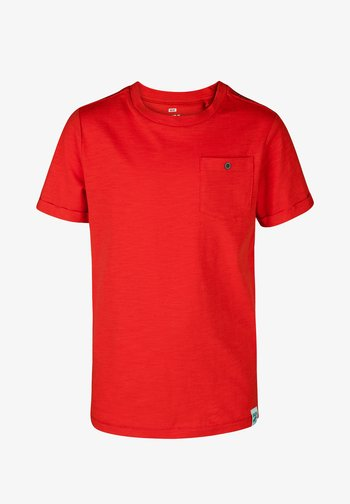 WE FASHION JONGENS T-SHIRT - T-shirt basic - red