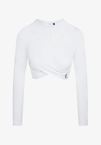 GAIA - Camiseta estampada - white