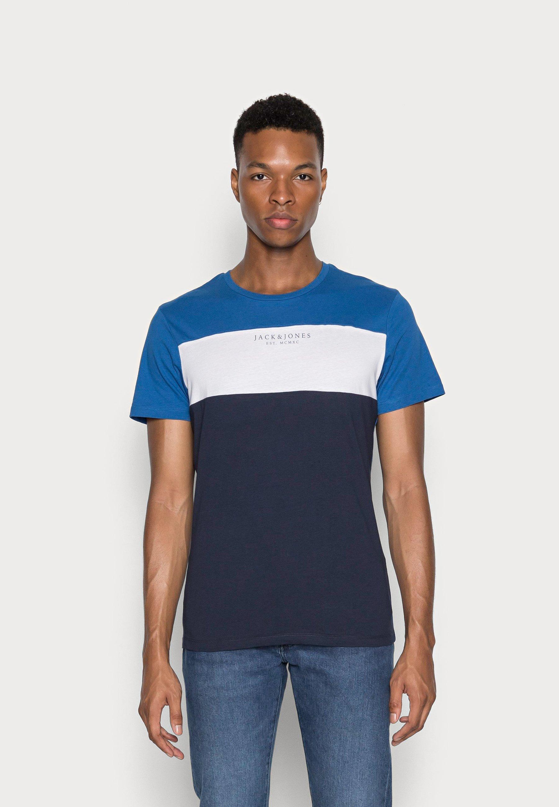 Herren JJMONSE TEE CREW NECK - T-Shirt print