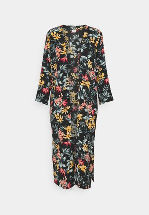 JOSEPHINE LONG KIMONO - Lehká bunda - black/tropical