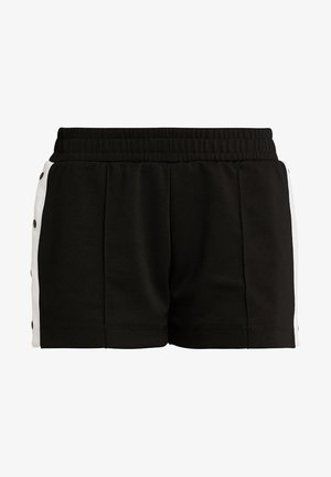 SHORT BUTTON  - kurze Sporthose - black