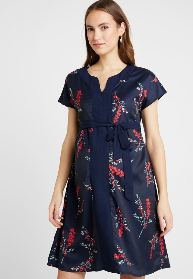 DOROTHY DRESS FLORAL - Day dress - navy