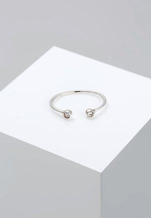 SOLITÄR STATEMENT  - Ring - silver-coloured/white