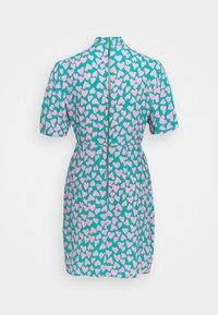 Closet - CLOSET KIMONO WRAP PENCIL DRESS - Cocktail dress / Party dress - pink - 1
