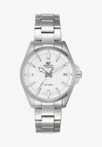 silver-coloured/white