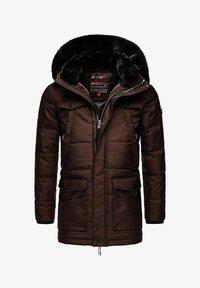 Navahoo - LUAAN - Winter coat - brown melange - 0