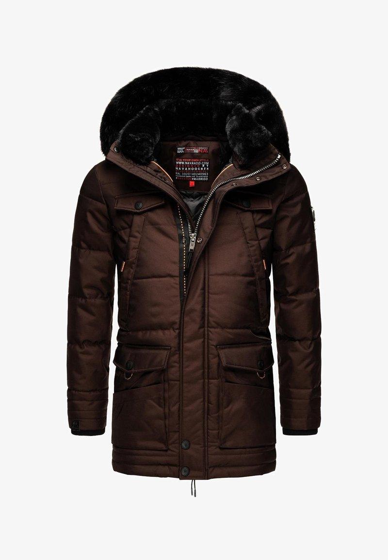 Navahoo - LUAAN - Winter coat - brown melange