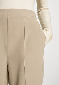 PIECES Tall - PCBOSSY PANTS - Trousers - silver mink - 6