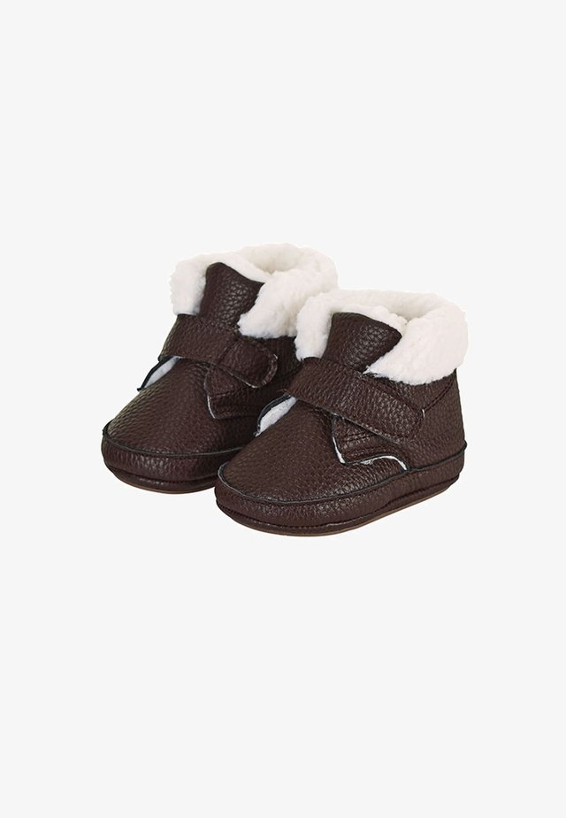 BABY WINTER-SCHUH - First shoes - braun