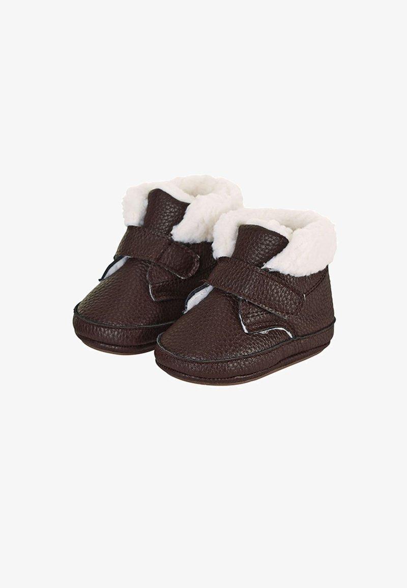 Sterntaler - BABY WINTER-SCHUH - First shoes - braun