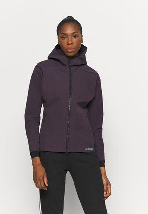 Chaqueta softshell - purple