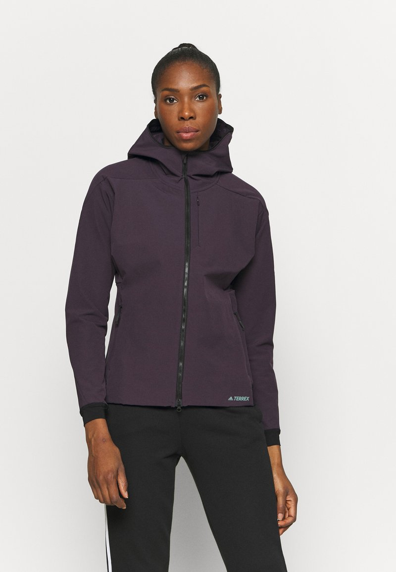 adidas Performance - Softshelljacke - purple