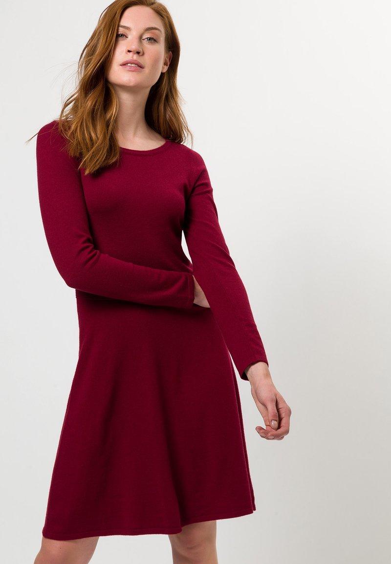 zero - Jumper dress - claret red