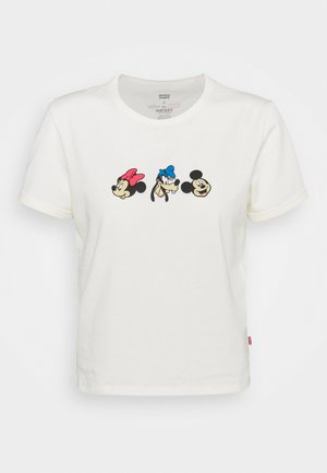 DISNEY MICKEY AND FRIENDS - T-shirt con stampa - marshmallow