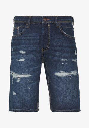 Jeans Short / cowboy shorts - blue dark wash