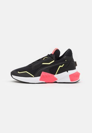 PROVOKE XT - Sports shoes - black/ignite pink