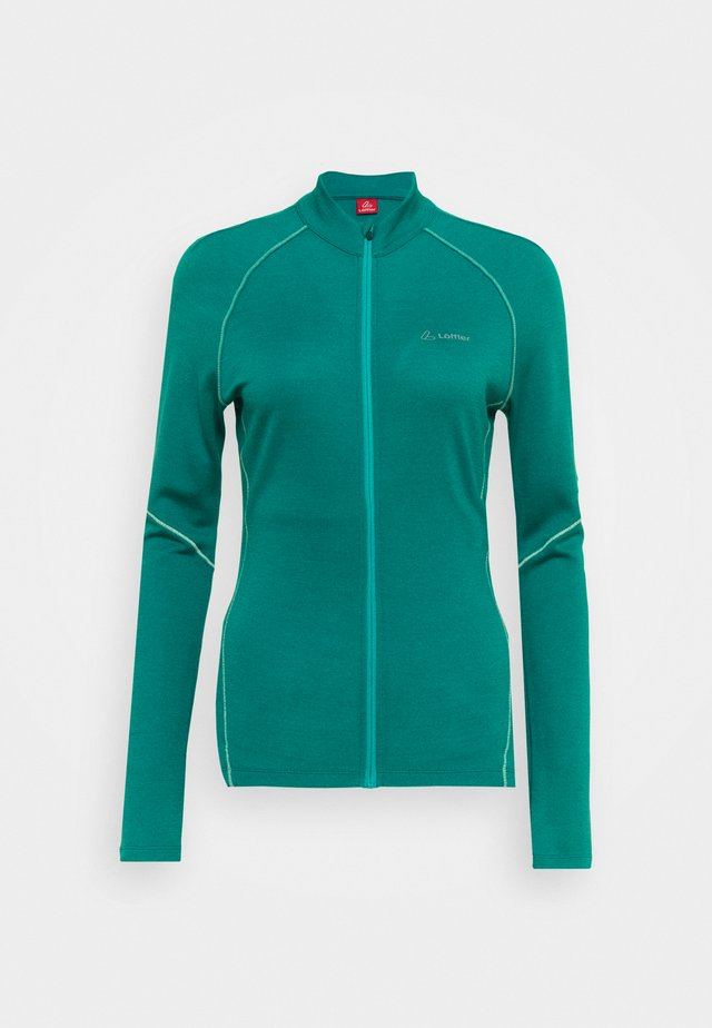 BIKE PACE - Training jacket - lagoon