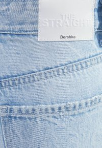 Bershka - Straight leg jeans - light blue - 5