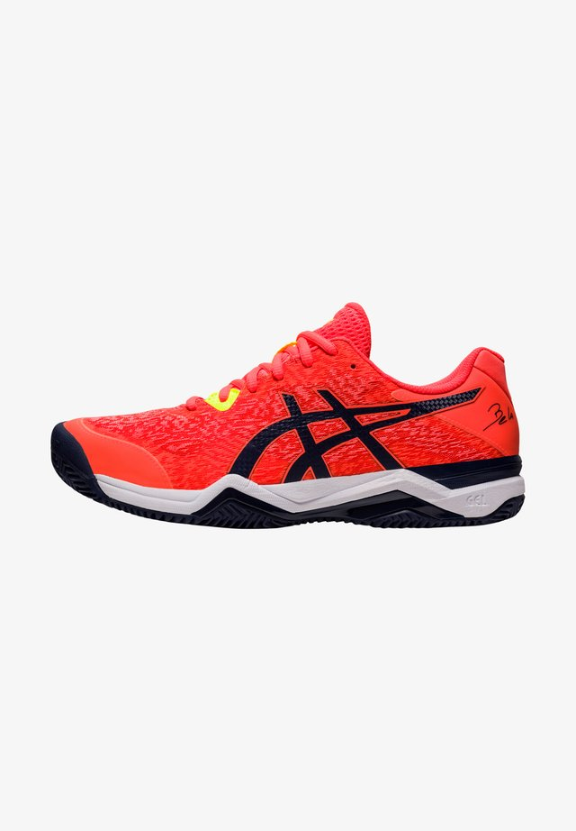 Sneakers laag - flash coral/peacoat
