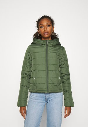 VMSIMONE HOODY SHORT JACKET - Light jacket - black forest