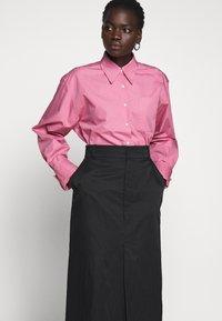 Rika - RAY SKIRT - A-line skirt - black - 3