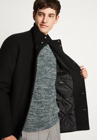 Jack & Jones - JJDUAL JACKET - Classic coat - black - 7