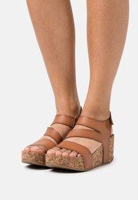 Blowfish Malibu - VEGAN LEELEE - Platform sandals - arabian sand dyecut - 0