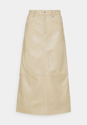 SKY - A-line skirt - beige