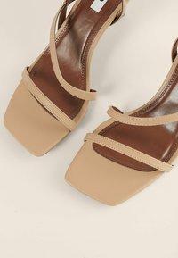 NA-KD - High heeled sandals - beige - 2