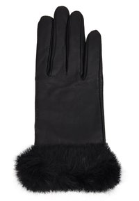 Dorothy Perkins - TRIM GLOVE - Gants - black - 1